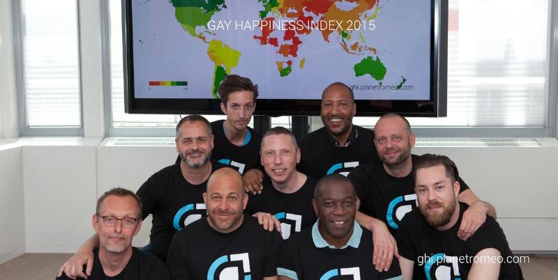 Miembros del equipo Gay Happiness Index 2015