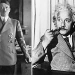 ¿Qué tienen en común Hitler y Einstein?