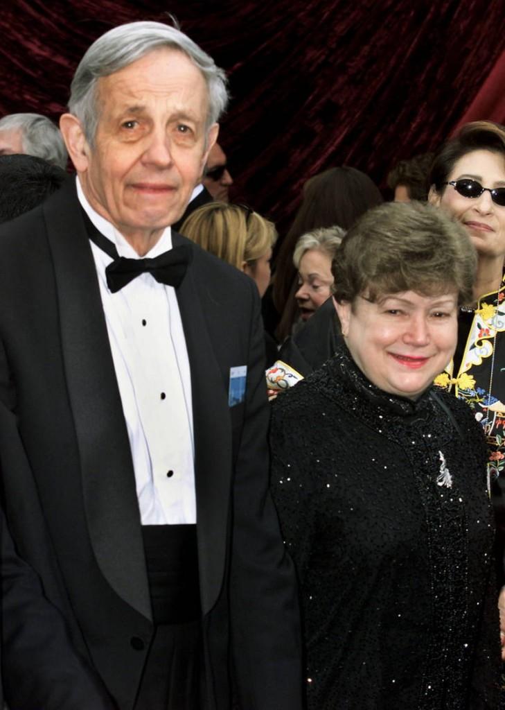 John Nash y su esposa Alice