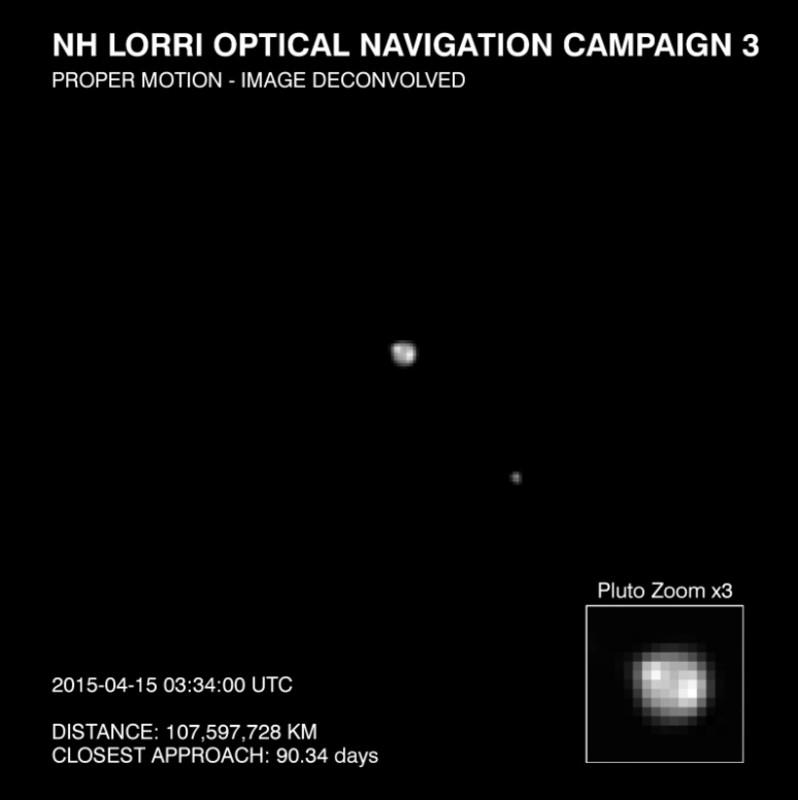 La nave New Horizons detecta un posible casquete polar en Plutón