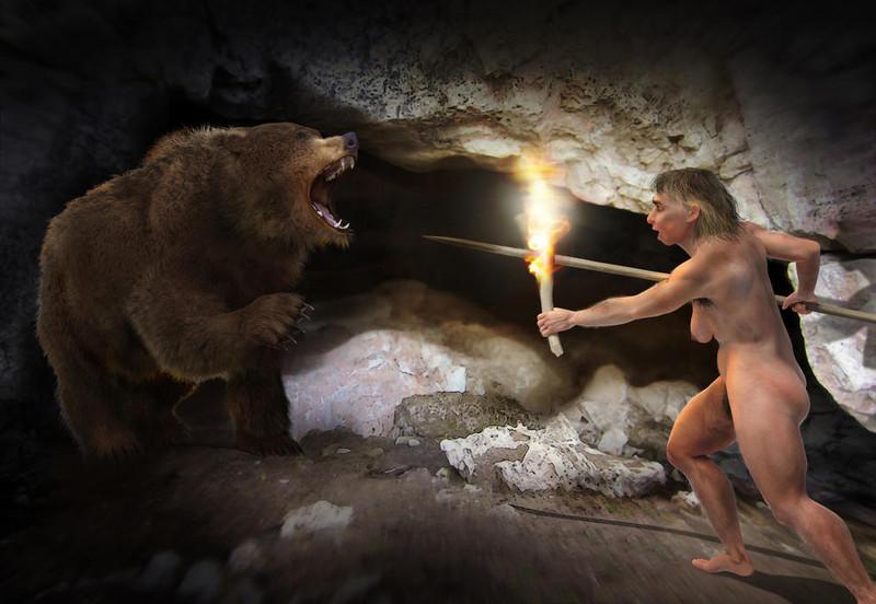 Los neandertales, víctimas de los grandes carnívoros