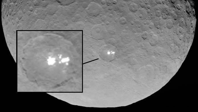 Los puntos brillantes de Ceres- NASA_JPL-Caltech_UCLA_MPS_DLR_IDA