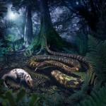 ¿Qué forma tenían las primeras serpientes?
