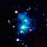 Un cuarteto de cuásares pone a prueba a los astrónomos