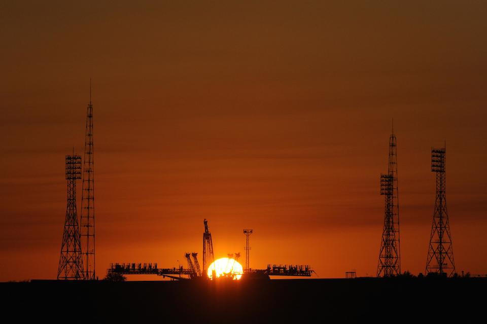 Cosmodromo de Baikonur- Bill Ingalls, NASA