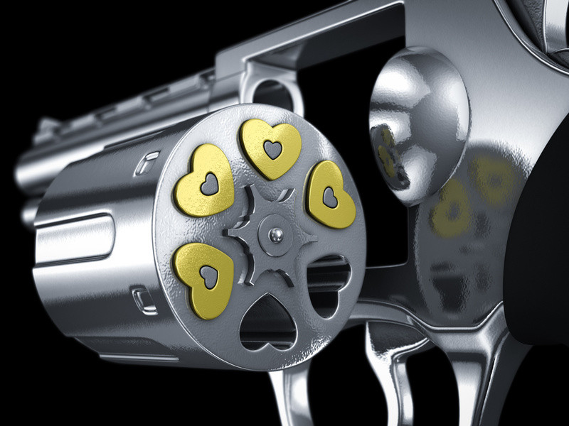 Disparo al corazón-Fotolia