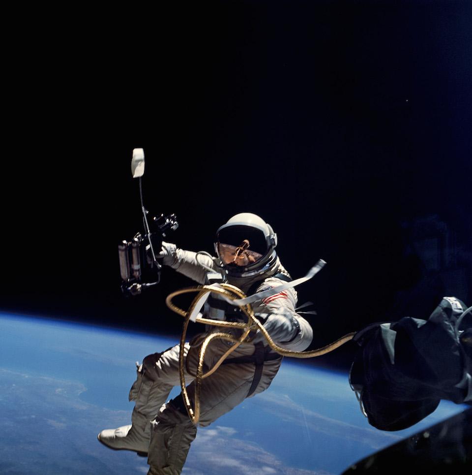 Edward H. White, primer paseo espacial de Estados Unidos- NASA