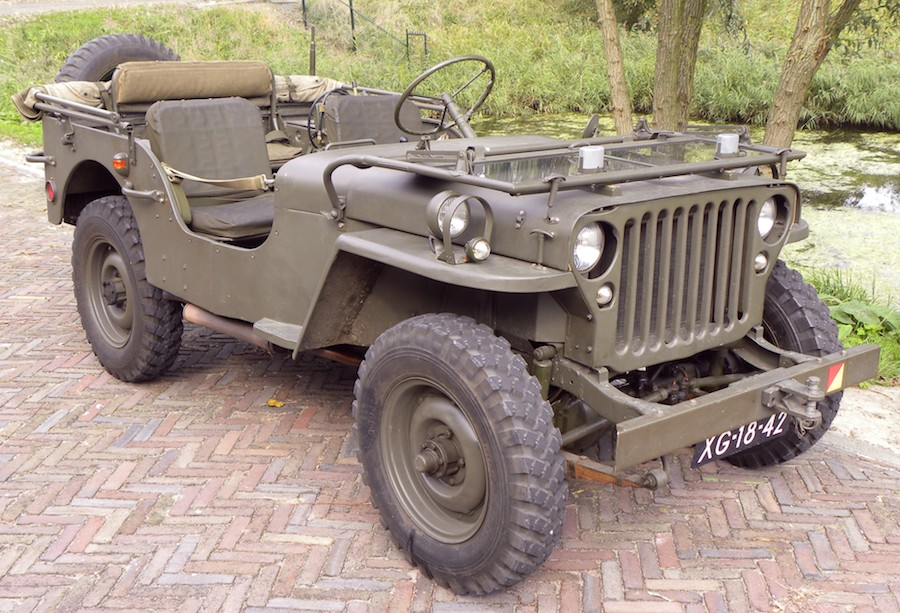 Jeep Willys 1943, Crash Museum