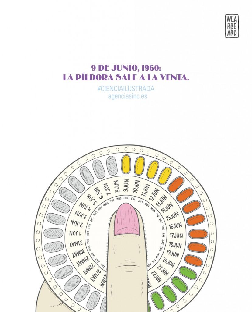 La píldoranticonceptiva generaliza su uso- Wearbeard, SINC