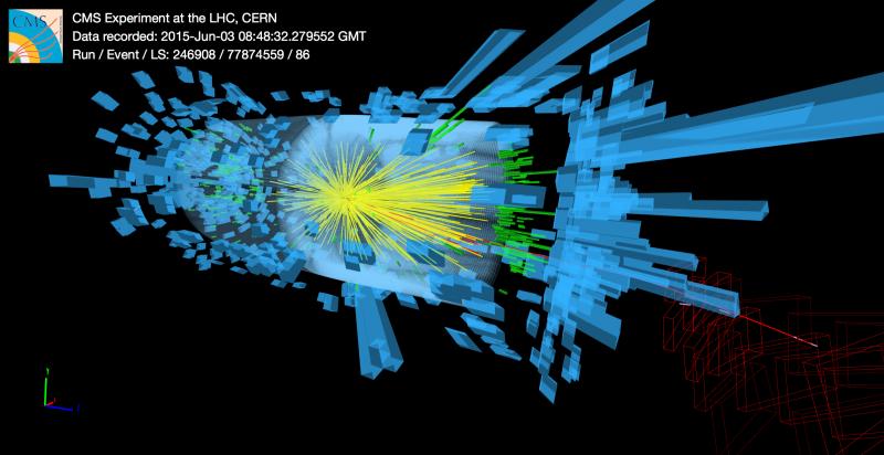 Los experimentos del LHC vuelven a funcionar con nuevo récord de energía