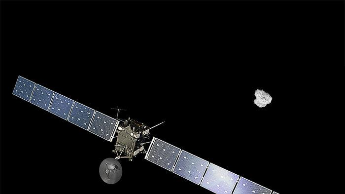 Prolongada la misión de Rosetta