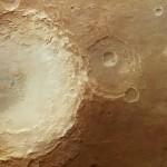 La acción de los vientos de Marte