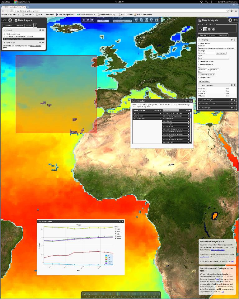 EARTHSERVER: Datos en masa de la Tierra al alcance de la mano