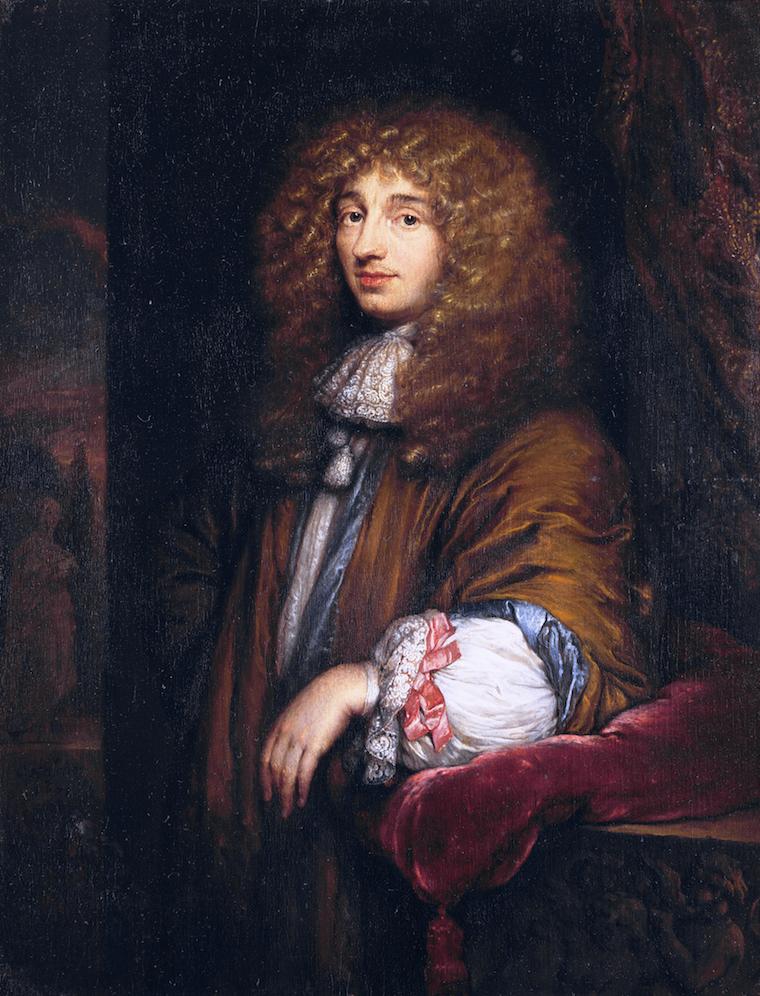 Christiaan Huygens II, Caspar Netscher, 1671