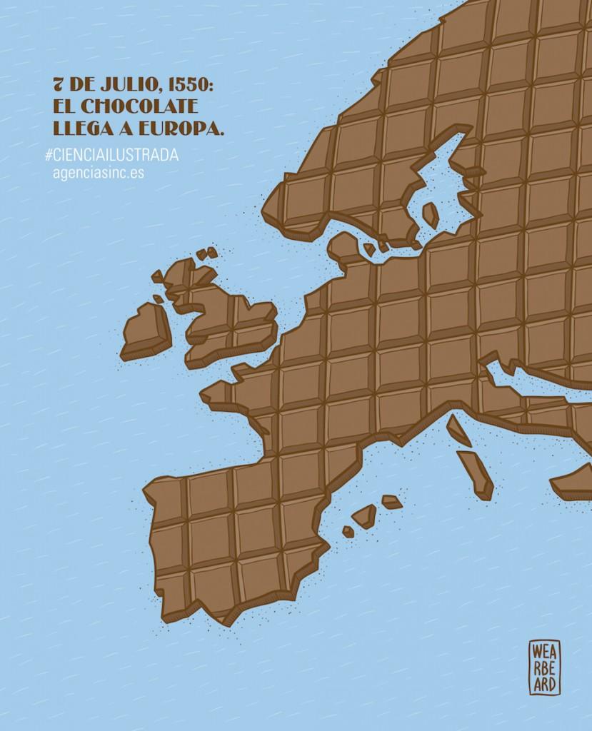 El chocolate llega a europa- Wearbeard, SINC