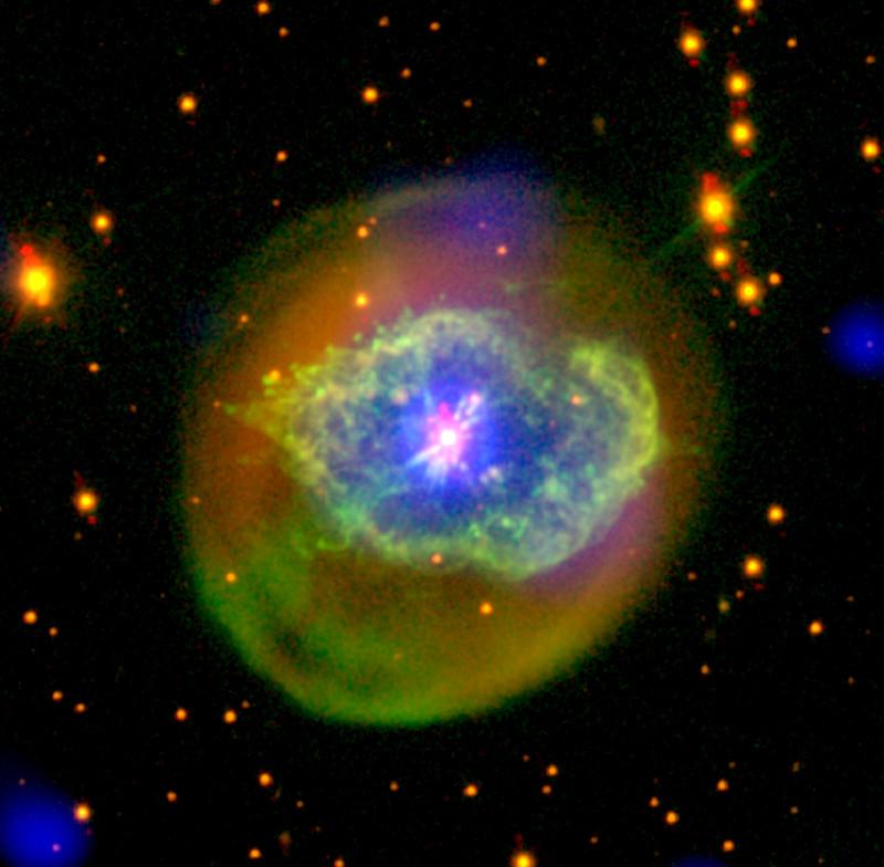 La estrella que renació en Abell 78