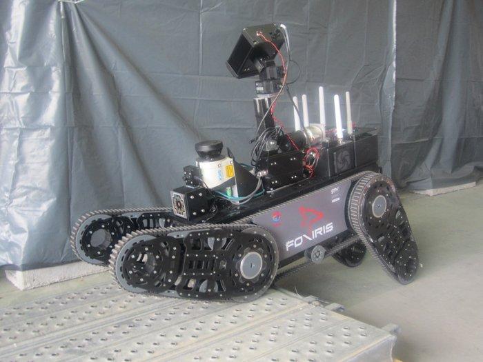 Robot inspirado en la nave ExoMars, para trabajar en plataformas petrolíferas y de gas