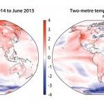 La temperatura global en su valor máximo desde 2009/10