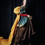 Carmen como la Santa Isabel de Zurbarán, Michael Thompson, 2000- Museo Thyssen-Bornemisza, Madrid