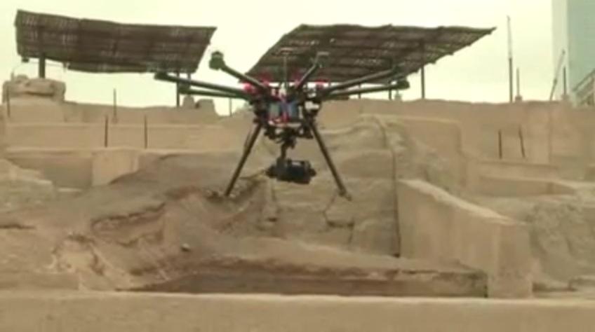 Perú incorpora drones para conservar su riqueza arqueológica (VIDEO)