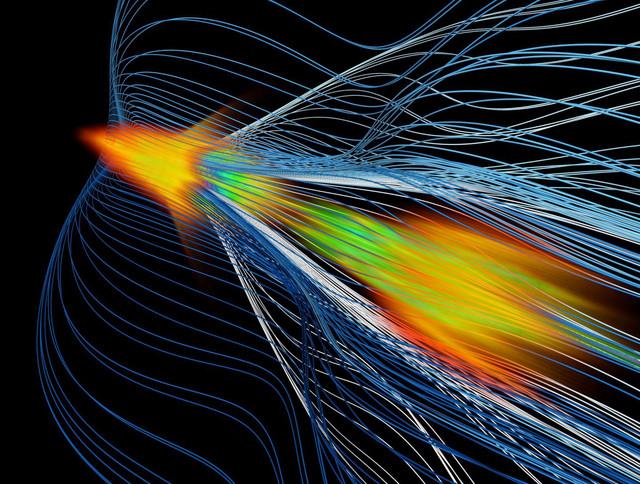 La antimateria 'surfea' en un laboratorio de EE UU