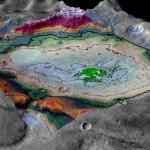 Un salar, vestigio de lo que fue uno de los últimos grandes lagos de Marte