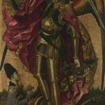 San Miguel triunfa sobre el demonio, Bartolomé Bermejo, 1468- National Gallery, Londres.jpg
