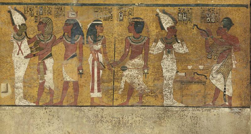 ¿Se esconde la tumba de Nefertiti tras este mural?