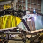 Probando los espejos del Telescopio Espacial James Webb