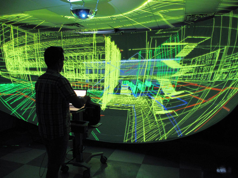 Un ratón para 3D- Hybridlab, Université de Montréal