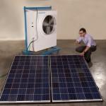 Arranque su aire acondicionado… con luz solar