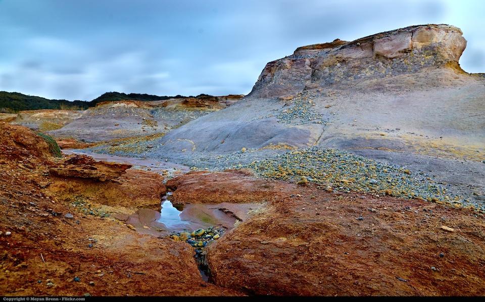 Así sería Marte con vida, vista de un Valle sulfuroso en Anzio, llamado Tor Caldara- Myoar Brenn