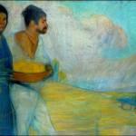 Campesinos, David Alfaro Siqueiros, 1913- Museo Nacional de Arte, México.jpg