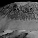 ¿Agua en Marte? Puede ser arena y partículas de hielo de agua que fluyen por sublimación del CO2
