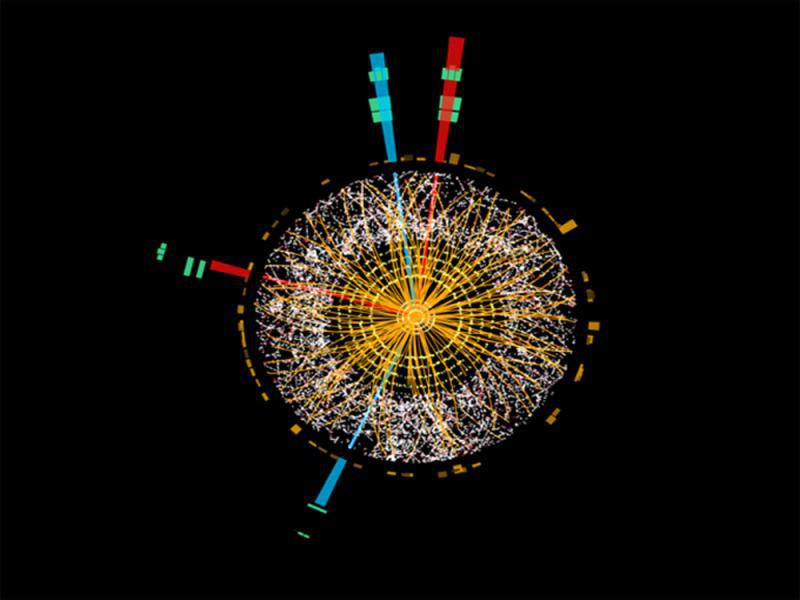El CERN presenta la imagen más nítida del bosón de Higgs