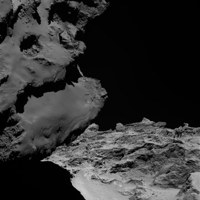 El cometa 67P se formó por la colisión de dos cometas primitivos
