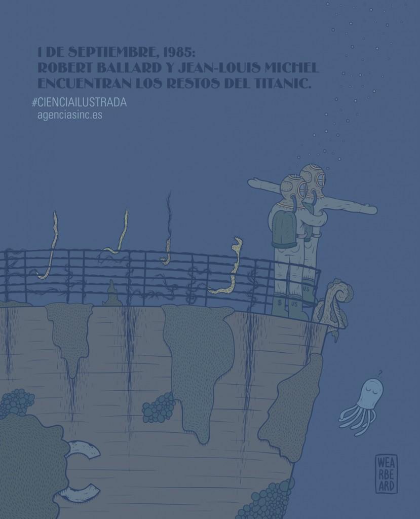 Un mito en el Atlántico Norte: Encuentran el Titanic el 1 de septiembre de 1985
