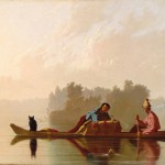 Fur Traders Descending the Missouri, 1845, George Caleb Bingham- Metropolitan Museum of Art, New York