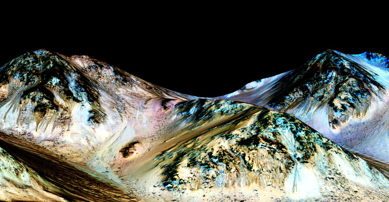 En Marte sí hay agua líquida
