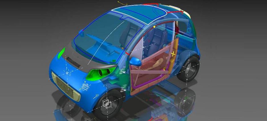Un proyecto europeo busca aumentar la autonomía del vehículo eléctrico reduciendo su peso en un 40%