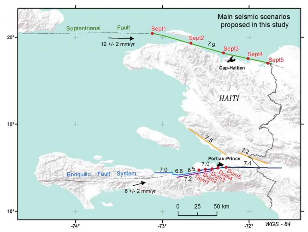 Primer estudio de riesgo sísmico para las principales ciudades de Haití
