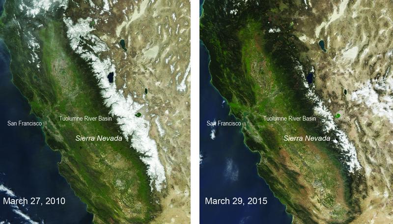 Sierra Nevada en California alcanza el mínimo histórico de nieve de los últimos 500 años