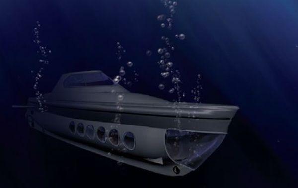 Submarino solar Goldfish