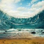 El éxodo bíblico de los israelíes saliendo de Egipto, pudo ser inspirado por tsunamis generados por la erupción del volcán Santorini