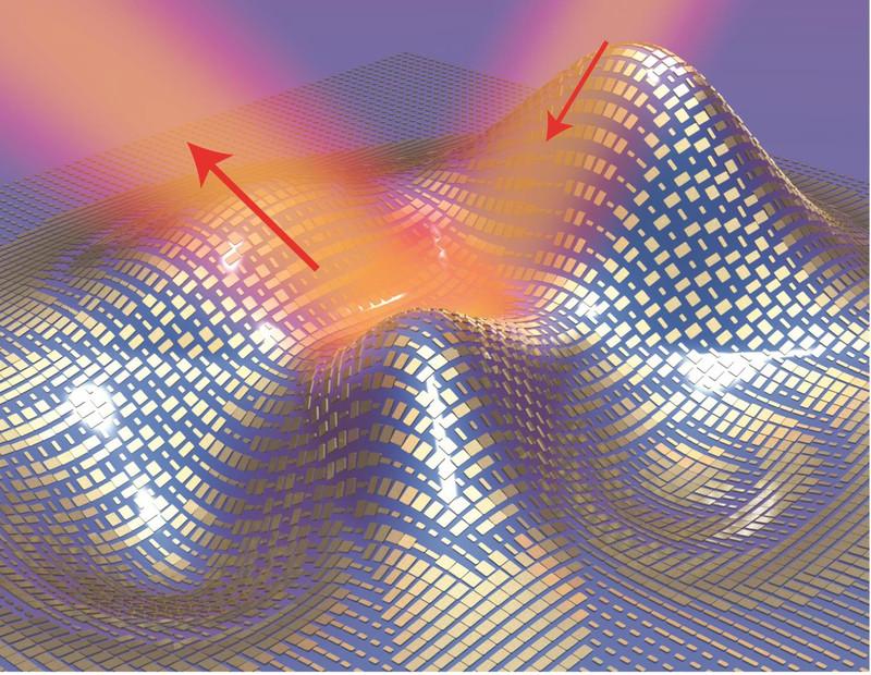 Una capa de invisibilidad logra ocultar pequeños objetos tridimensionales