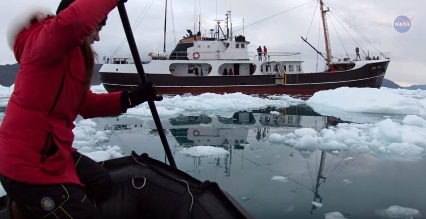 Deshielo en el Ártico -NASA