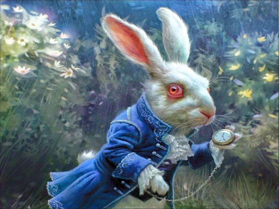 Conejo blanco/ Se hace tarde