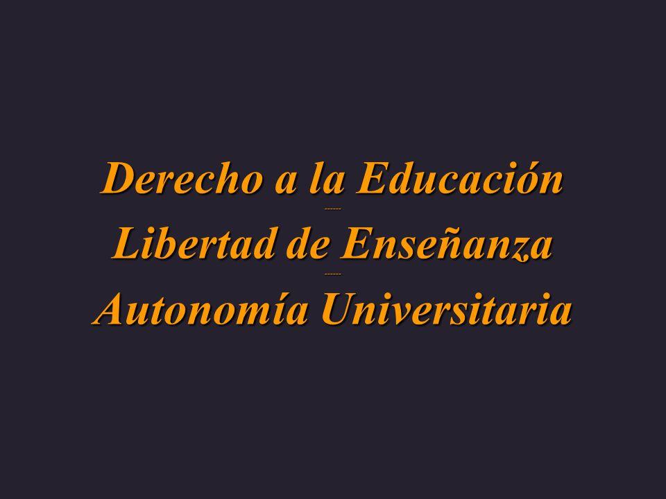 Autonomía universitaría