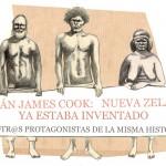 """James Cook, """"descubrió"""" Nueva Zelanda: 7 de octubre de 1769"""