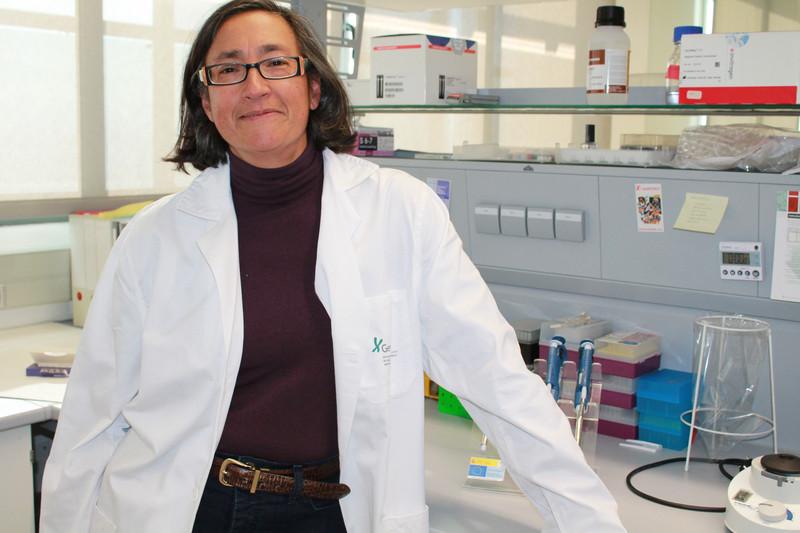 La investigadora de GENYO Marta Alarcón Riquelme. / UGR